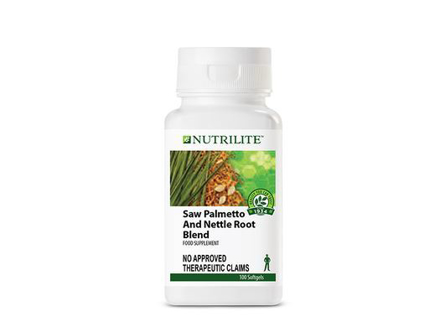 圖片 Nutrilite Saw Palmetto And Nettle Root Blend Softgel Capsule