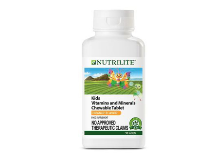 圖片 Nutrilite Kids Vitamins And Minerals Chewable Tablet