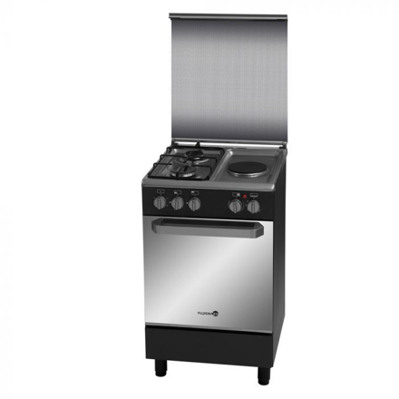 图片 Fujidenzo FGR 5521TMB 50CM Range, 2 Gas burners | 1 Electric Hotplate