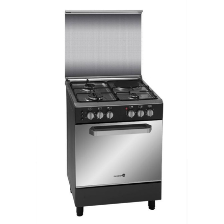 图片 Fujidenzo FGR 6631VTRMB 60CM Range, 3 Gas Burners + 1 Electric Hotplate