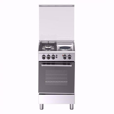 图片 Tecnogas TFG5521CRVSSC 50cm Range, 2 Gas and 1 Electric Hot Plate