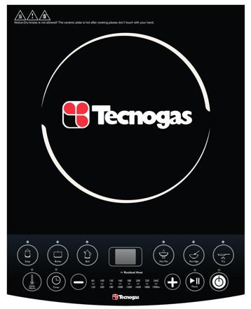 图片 Tecnogas TIC3081BL Induction Cooker | Order Basis