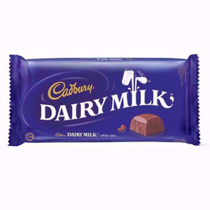 Picture of Cadbury Dairy Milk Chocolate 165g