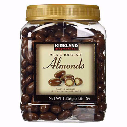 Picture of Kirkland Milk Chocolate Almonds