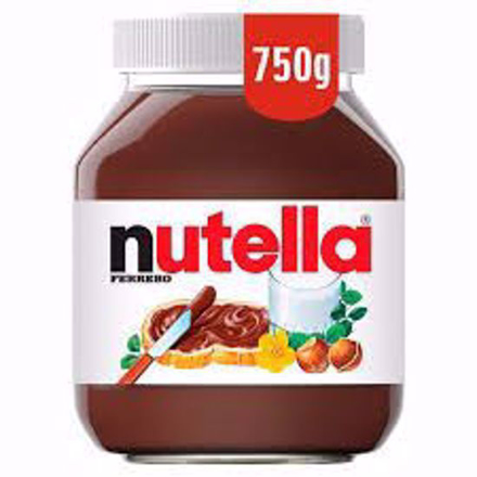 Picture of Nutella Chocolate Hazelnut Spread 750g