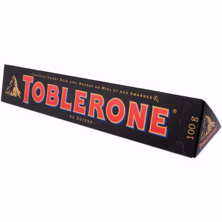 Picture of Toblerone Dark Chocolate 100g