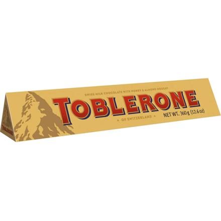 图片 Toblerone Milk Chocolate 360g