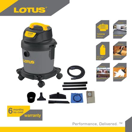 图片 Lotus Vacuum Wet/Dry+Blower  3G LTPT600WDX