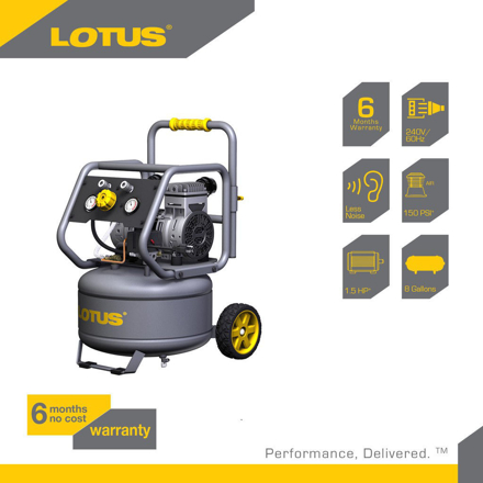 图片 Lotus Air Compressor 8G 1.5HP LTVC3000S