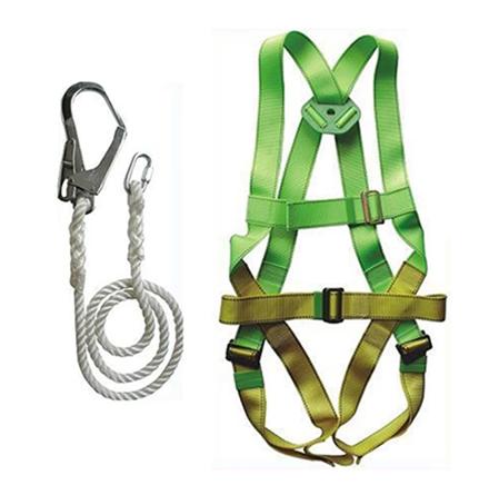 圖片 Full Body Harness With Lanyard Big Hook SA-100