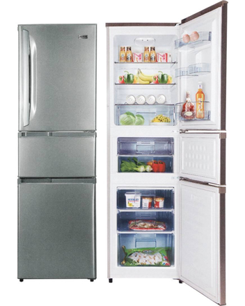 图片 Markes 3 Door Bottom Refrigerator MR3BF-238J