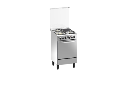 图片 Markes Garces Stainless Steel Finish Gas Range  MRFS60