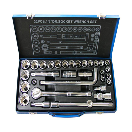 圖片 32-Piece Socket Set K0108