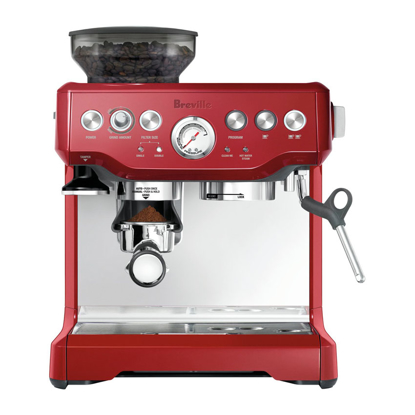 Picture of Breville The Barista Express Cranberry- BES870CRN