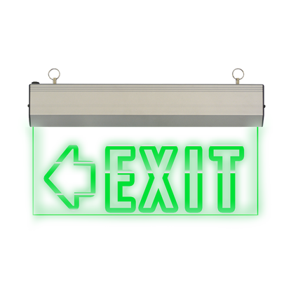 Picture of Exit Sign Left Arrow (Acrylic) LED/X-200/L