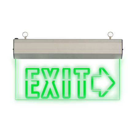 图片 Exit Sign Right  Arrow (Acrylic) LED/X-200/R