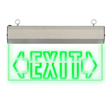 图片 Exit Sign Double Arrow (Acrylic) LED/X-200/D