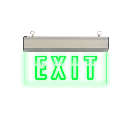 图片 Exit Sign (Acrylic) LED/X-200