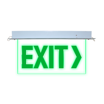 图片 Exit Sign (Recessed) LED/X-300/L