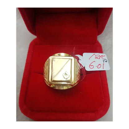 Picture of 18K - Saudi Gold Ring-  SR6.01G-10