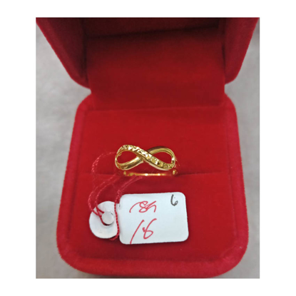 Picture of 18K - Saudi Gold Ring- SR1.6G(6)