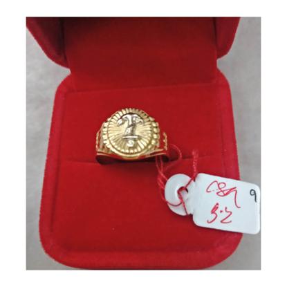 Picture of 18K - Saudi Gold Ring- SR3.2G(9)