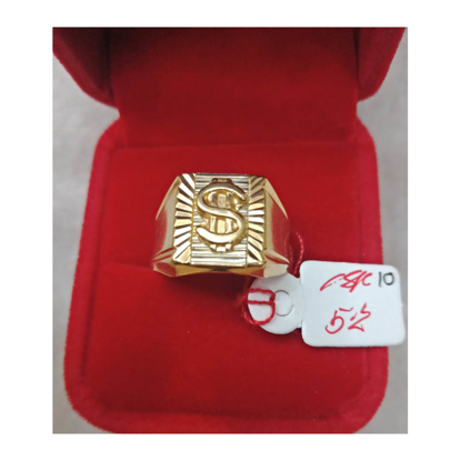 Picture of 18K - Saudi Gold Ring- SR5.2G(10)