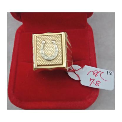 Picture of 18K - Saudi Gold Ring- SR7.8G(12)