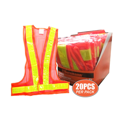 Picture of Reflective Safety Vest 20 Pieces Per Pack B-4407G