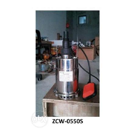 圖片 Submersible Pumps Clear Water Stainless Body ZCW-0550S