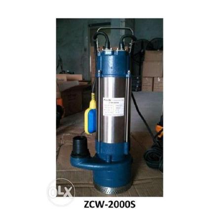 圖片 Submersible Pumps Clear Water Stainless Body ZCW-2000S