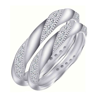 Picture of 925 Silver, Couple Ring- CS-021