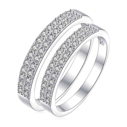 Picture of 925 Silver, Couple Ring- CS-024