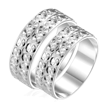 Picture of 925 Silver, Couple Ring- CS-027