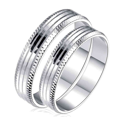 Picture of 925 Silver, Couple Ring- CS-028