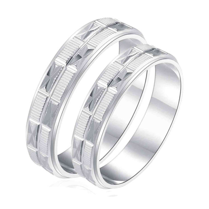 Picture of 925 Silver, Couple Ring- CS-030