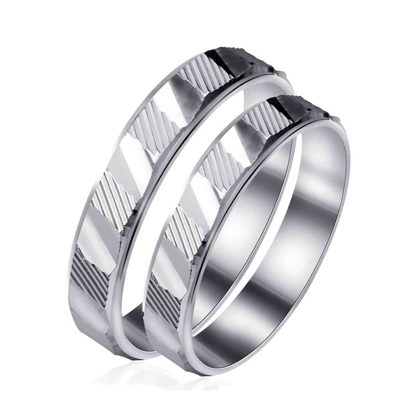 Picture of 925 Silver, Couple Ring- CS-031