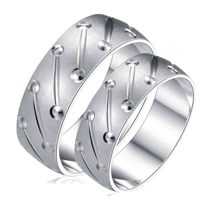Picture of 925 Silver, Couple Ring- CS-054