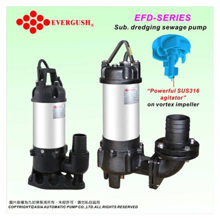圖片 Submersible Dredging Sewage Pumps EFD-20
