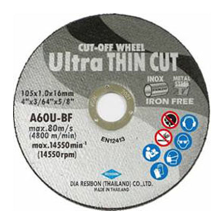 图片 Cut-Off Wheel Ultra Thin UCOWS-105