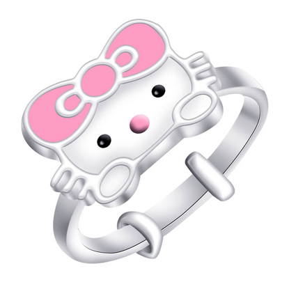 Picture of 925 Silver Jewelry,Kids Ring- SR-466
