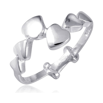 Picture of 925 Silver Jewelry,Kids Ring- SR-467