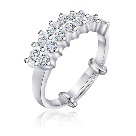 Picture of 925 Silver Jewelry,Kids Ring- SR-468