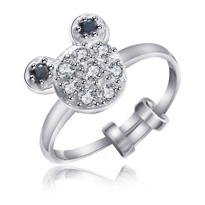 Picture of 925 Silver Jewelry,Kids Ring- SR-470