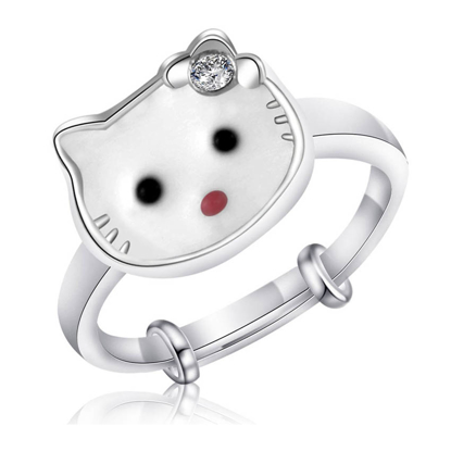 Picture of 925 Silver Jewelry,Kids Ring- SR-471