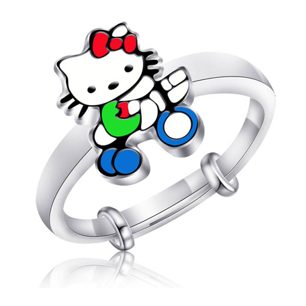 Picture of 925 Silver Jewelry,Kids Ring- SR-473
