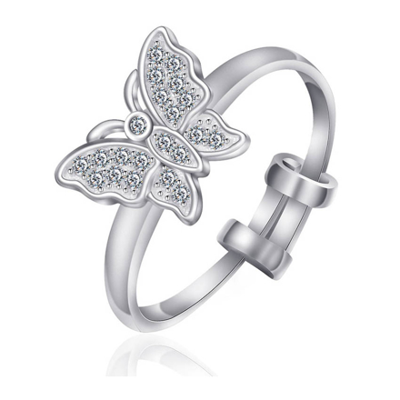 Picture of 925 Silver Jewelry,Kids Ring- SR-475