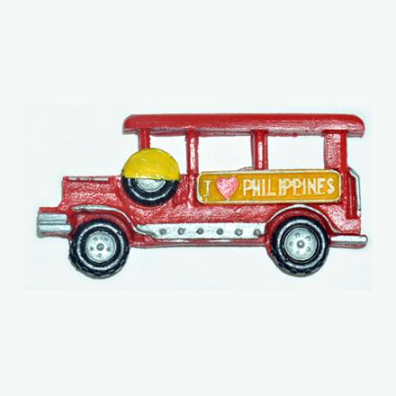 图片 Jeepney Ref Magnet, Philippine Jeepney Souvenir