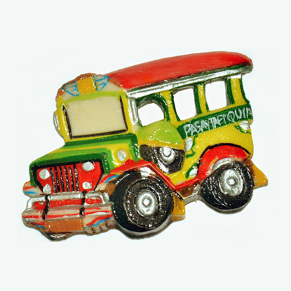 Picture of Jeepney Ref Magnet- DSC-5203