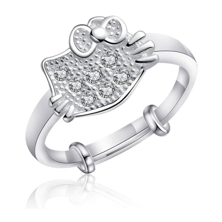 Picture of 925 Silver Jewelry,Kids Ring- SR-479